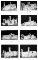 Comparative Models of English Cathedrals 2