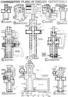Comparative Plans of English Cathedrals 3