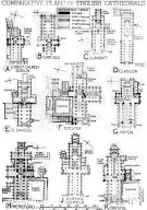 Comparative Plans of English Cathedrals 4