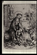 Holy Family by the Rosebush