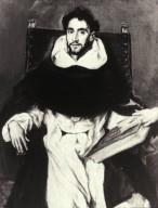 Portrait of Fray Felix Hortensio Paravicino