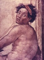 Sistine Chapel: Nude Youth