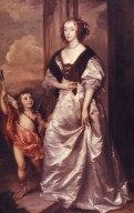 Portrait of Mary, Duchess of Lennox