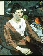 Portrait of Marie Derrien