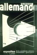 Poster for Exposition de la Societe des Artistes Decorateurs