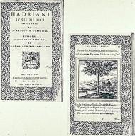 Hadrianus Junius. Enblemata