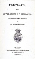 Portraits of the Sovereigns of England