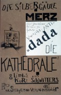 Cover for Die Kathedrale, a Series of Eight Lithographs