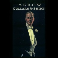 Arrow Collars and Shirts Sign