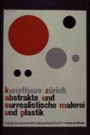Art Exhibition Poster - Abstrakte und Surrealistische Maleri und Plastik