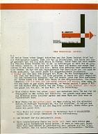 Lissitzky's Letterhead