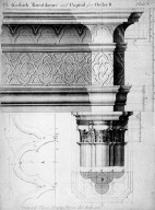 Entablature of a 'Gothic Order'