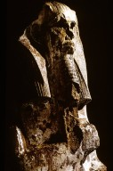 Stepped Pyramid Complex of Djoser (Zoser): Limestone Sculpture of King Djoser (Zoser)