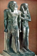 King Menkaure (Mycerinus) and Queen