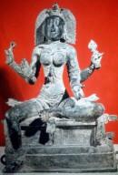 Kali, Seated