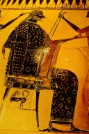 Vase Painting: Zeus Seated on a Chair