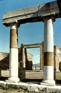 Forum at Pompeii: Building of Eumachia