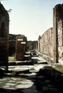 Intersection in Pompeii