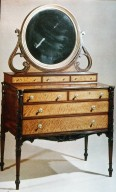 Bureau and Dressing Glass