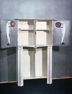 Painted Oak Cabinet