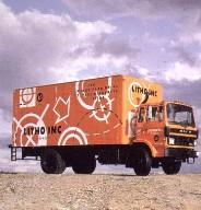 Truck for Printer 'Litho'