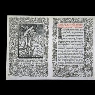 A Note by William Morris on His Aims in Founding the Kelmscott Press