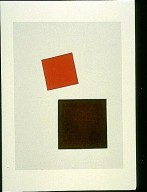 Suprematist Composition: Red Square and Black Square