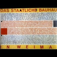 Bauhaus Exhibit Brochure