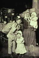 Italian Family Seeking Lost Baggage, Ellis Island