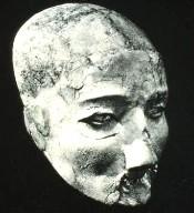 Neolithic Plastered Skull