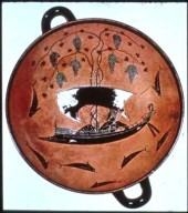 Kylix: Dionysos in a Boat