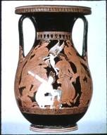 Pelike (R.F.): Peleus and Thetis