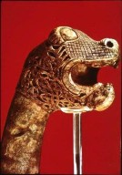 Animal Head from Oseberg Ship Burial