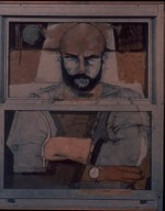 Jim Dine Storm Window Portrait (Position I)