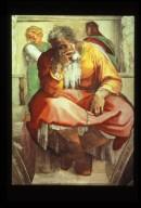 Sistine Chapel: Prophet Jeremiah