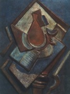 Still Life with Book and Vase on Table