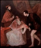 Pope Paul III with Grandsons