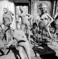 Demon Attendants of the Goddess Kali