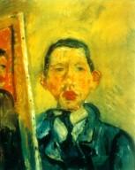 Self Portrait of Chaim Soutine