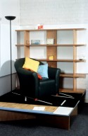 Chair and Bookcase