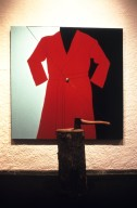 Red Robe with Hatchet
