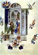 Tres Riches Heures du Duc de Berry: Annunciation
