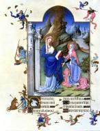 Tres Riches Heures du Duc de Berry: Visitation
