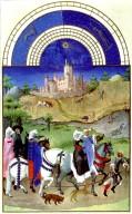 Tres Riches Heures du Duc de Berry: August
