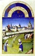 Tres Riches Heures du Duc de Berry: June