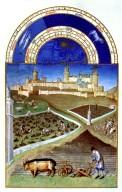 Tres Riches Heures du Duc de Berry: March