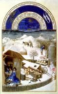Tres Riches Heures du Duc de Berry: February