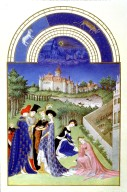 Tres Riches Heures du Duc de Berry: April