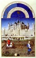 Tres Riches Heures du Duc de Berry: October