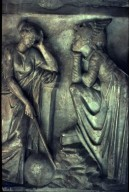 Roman Sarcophagus Relief: Women